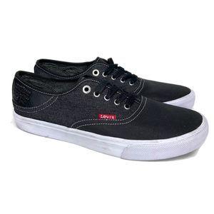 Levis Denim Lace Up Casual Sneakers Shoes